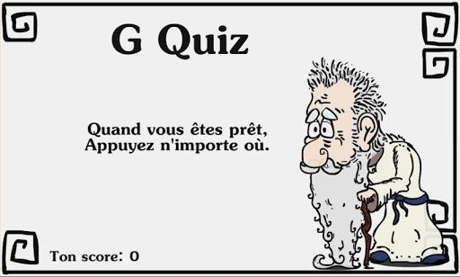 G Quiz