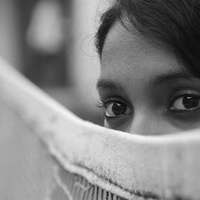by Yash Savla - Black & White Portraits & People