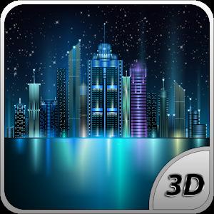 Space City Free 3D LWP 個人化 App LOGO-APP試玩