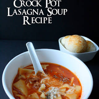 Crock Pot Lasagna Soup Recipe and Other Football Party Ideas.