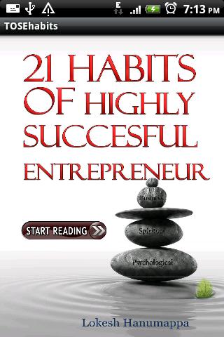 21 Best Entrepreneurial Habits