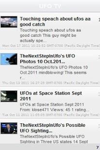 UFO Alien TV: Top Secret