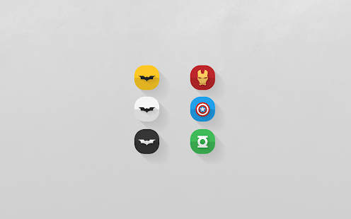 Crease - Icon Pack - screenshot thumbnail