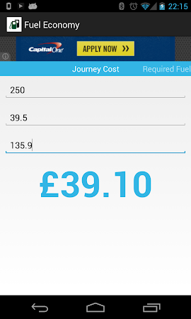 Fuel Economy 1.3 screenshot 2038145