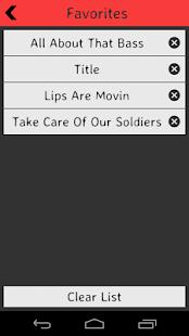 Meghan Trainor Lyrics screenshot