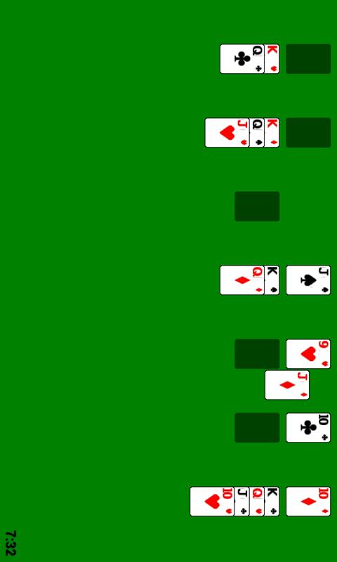 Windows Solitaire - screenshot