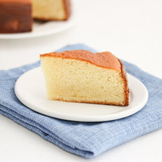 Hot Milk Sponge Cake.