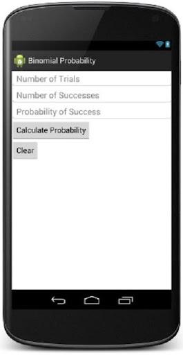 Binomial Prob Calculator