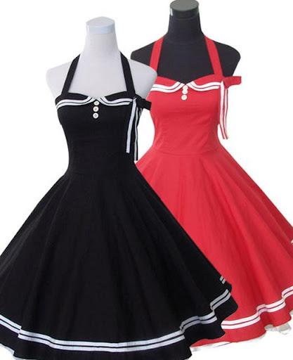 60's Women Dresses - Puzzle .