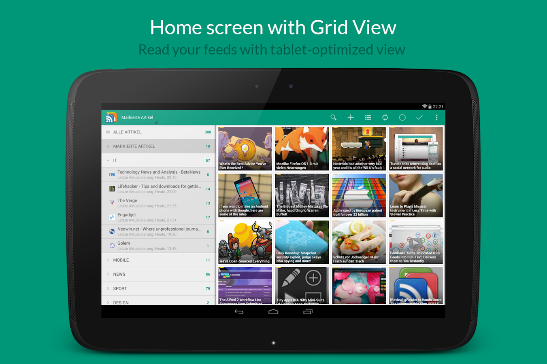 gReader Pro | Feedly | News - screenshot