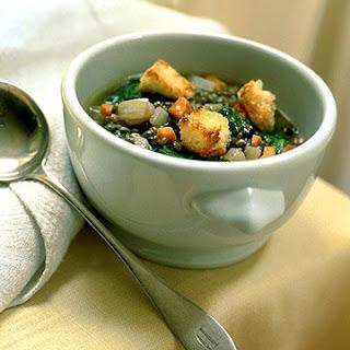Lentil and Escarole Soup