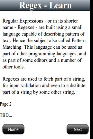 Regex Maven - screenshot