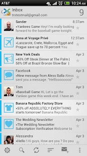 XonoMail BETA- Smart Email App - screenshot thumbnail