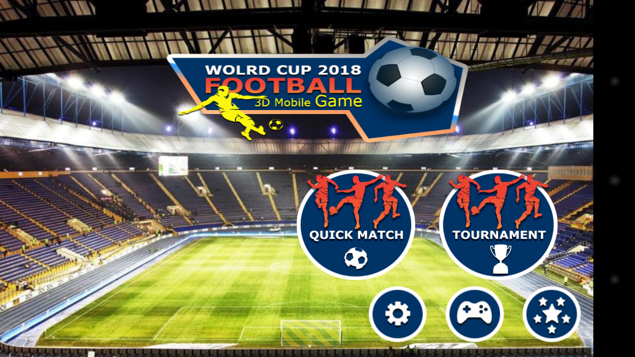 Download best football or soccer games for android in 2014 - Real Ultimate Football Soccer Screenshot