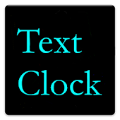 Text Clock Live Wallpaper
