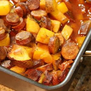 Portuguese Roasted Potatoes