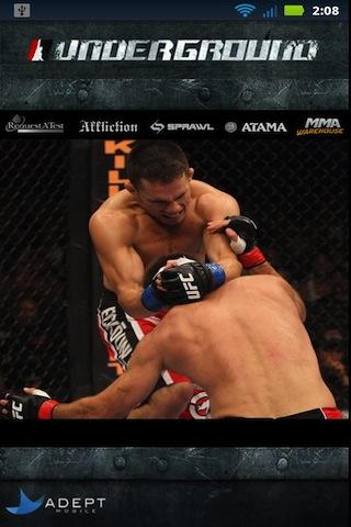 MMA Underground - screenshot