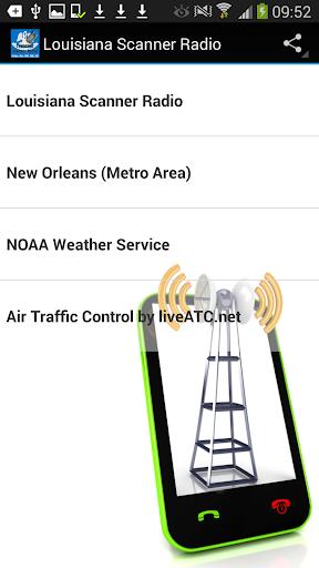 Louisiana Scanner Radio