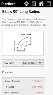 Pipeflex - Pipe Thickness/DB- screenshot thumbnail