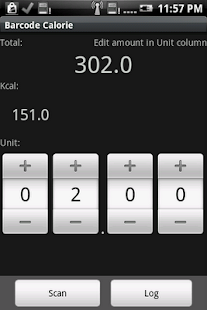 Barcode Calorie- screenshot thumbnail