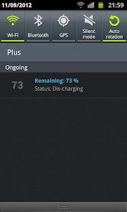 Simple Battery Widget - screenshot thumbnail