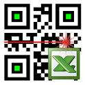 LoMag Barcode Scanner to Excel icon