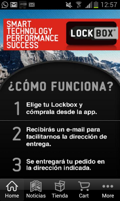 Lockbox- screenshot