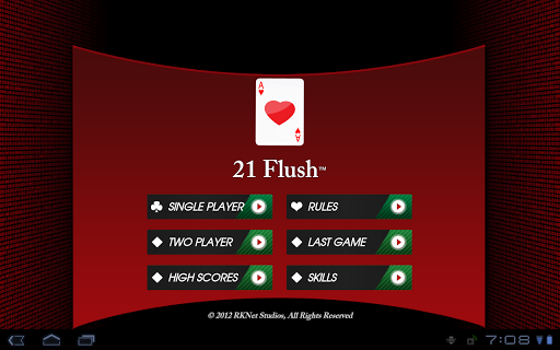 21 Flush