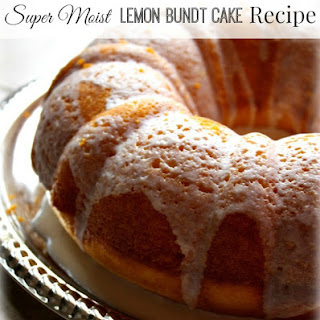 Super Moist Lemon Bundt Cake