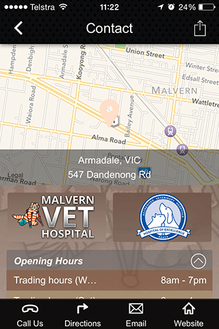 免費醫療App|Malvern Veterinary Hospital|阿達玩APP