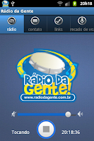 Screenshot of Rádio da Gente