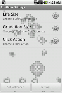 LifeGame Live Wallpaper Lite - screenshot thumbnail