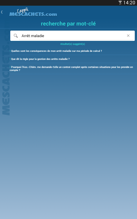 Intermittent du spectacle- screenshot