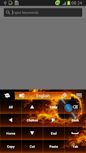 Themed Flames Keyboard - screenshot thumbnail