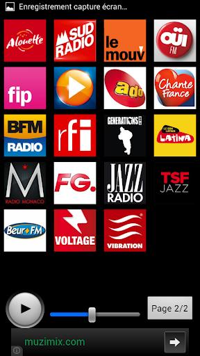 【免費音樂App】Radios France-APP點子