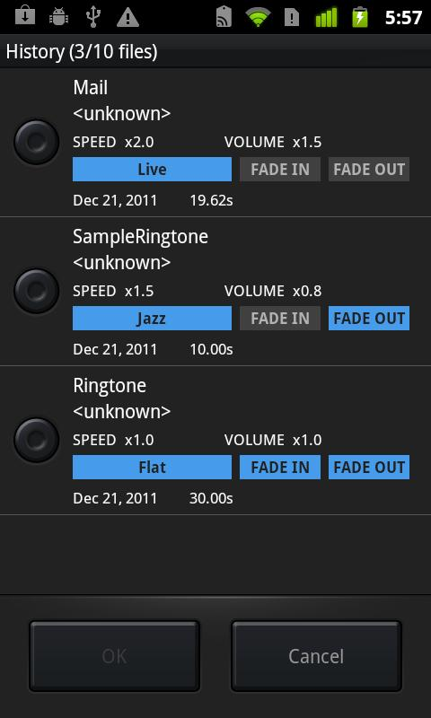 @Ringtone - screenshot