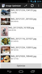 Image Optimizer screenshot 1