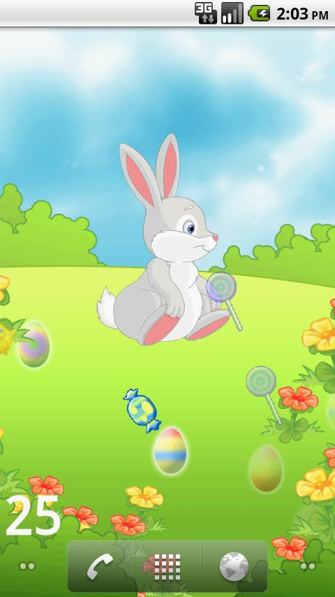 Easter Egg Hunt LWP - screenshot