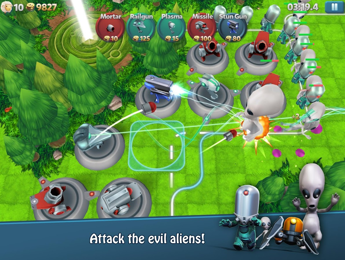 Tower Madness 2: 3D Defense- screenshot