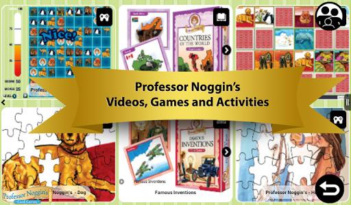 Professor Noggin's Trivia Game