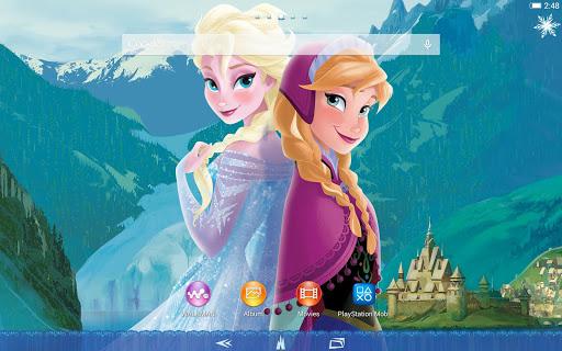 無料个人化AppのXPERIA™ Frozen Elsa&Anna Theme|記事Game