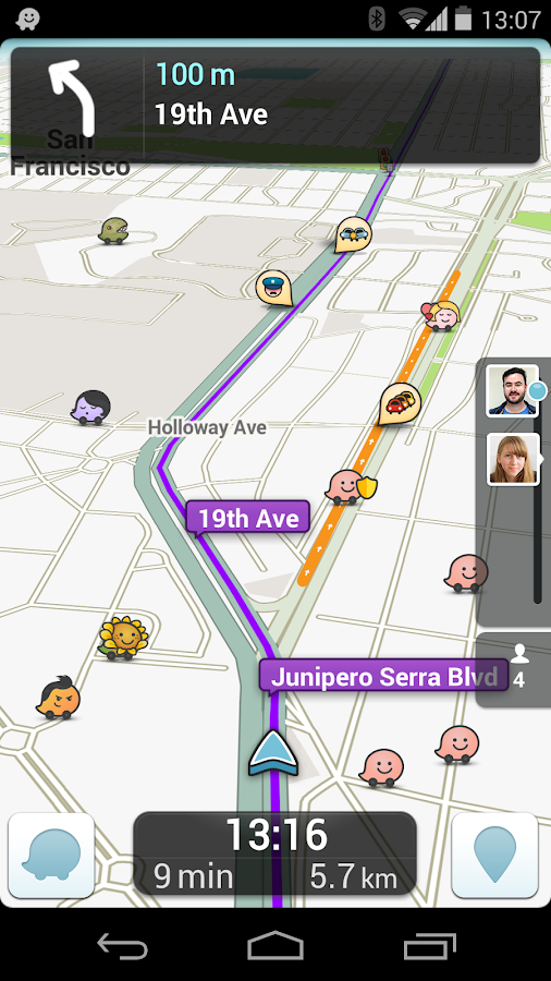 Waze Social GPS Maps & Traffic - screenshot