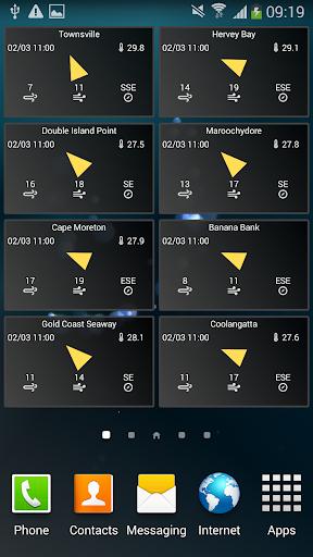 Australia Wind App Widget