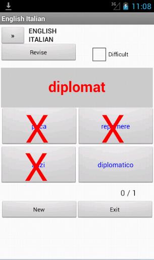 【免費書籍App】Italian English Dictionary-APP點子