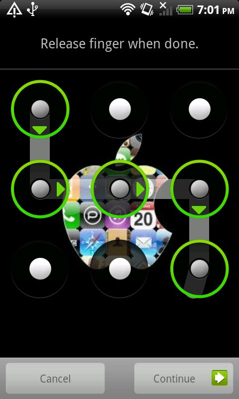 Easy App Lock (Pattern Lock) - screenshot