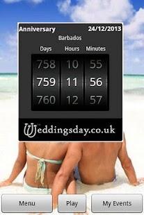 Wedding Countdown- screenshot thumbnail