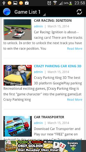 【免費娛樂App】Car Games-APP點子