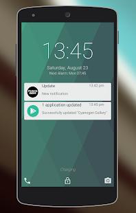 Lollipop Lockscreen screenshot