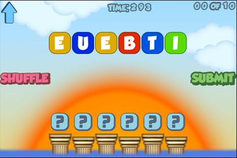 Scrambled Words Game!- screenshot