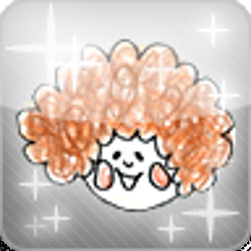 もしゃもしゃアフロ 休閒 App LOGO-APP試玩